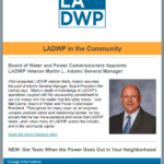 LADWP Community Newsletter July 2019