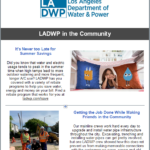 LADWP Community Newsletter – August 2019