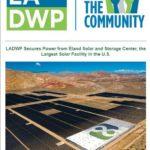 LADWP Community Newsletter – November 2019