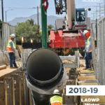 LADWP 2018-19 Water Infrastructure Plan