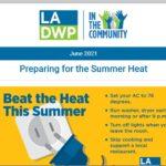 LADWP in the Community Newsletter – June 2021