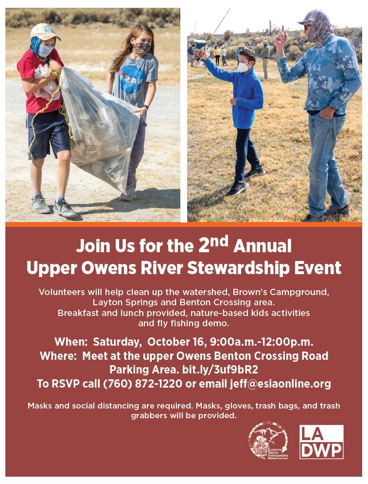 image of october 16 stewardship event flyer