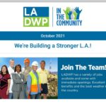 LADWP in the Community Newsletter – October 2021